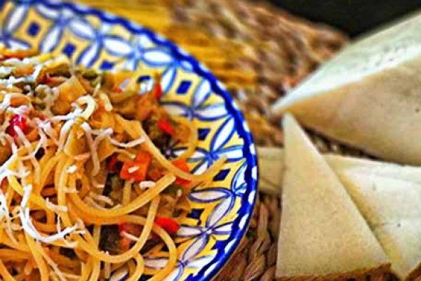 espaguetis con verduritas 4