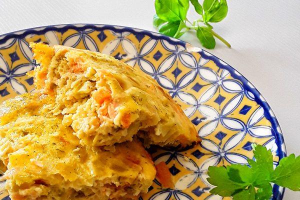 pastel de salmón fresco 3